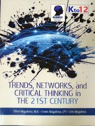 SHS - Trends, Network & Critical Thinking in the 21st Century